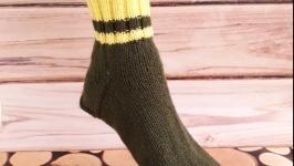 Носки в деревенском стиле