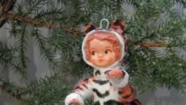 кукла из ваты′тигренок′