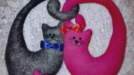 Котики-сердечки