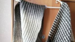 Чоловічій вовняний шарф