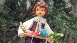кукла из ваты′ на ярмарке′
