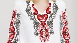 Блуза вышитая женская - Орнамент 2