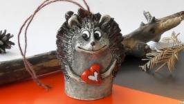 Дзвоник їжак Колокольчик еж романтический подарок