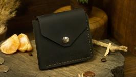 Универсальный кожаный кошелек под документы карты, Гаманець для документів