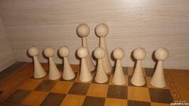 Шахматные фигуры Пешки. Заготовки