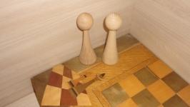 Шахматные фигуры Король. Королева. Заготовки