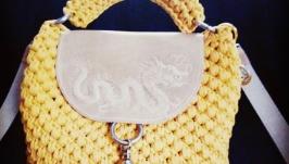 Сумка ′Желтый дракон′
