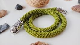 Оливковый Жгут Змейка