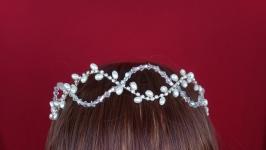 Свадебный веночек для волос