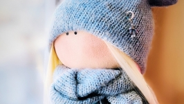 Интерьерная кукла - Тильда