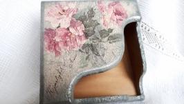 Салфетница Старые розы