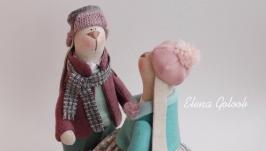 Пара зайчиков ′Весенние Романтики′