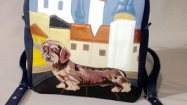 кожаный рюкзак ′Жостик-2′