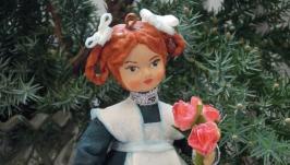кукла из ваты ′Ученица′