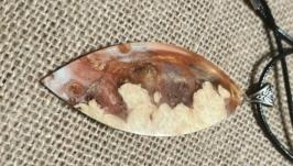 Кулон-гибрид. ДеревоСмола