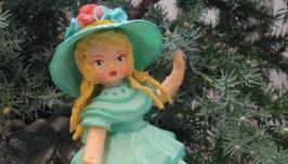 елочная игрушка  ′приглашение′