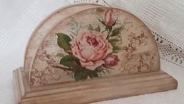 Салфетница Винтажные розы