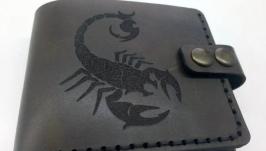 Іменний гаманець, кошелек с гравировкой, именной кошелек