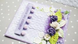 Свадебная открытка ′Remember this moment′