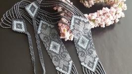 Гердан ′Ніжність′ з натуральними перлами