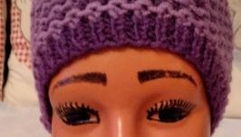 Повязка детская ′Конфетка′ сиренево-фиолетовая.