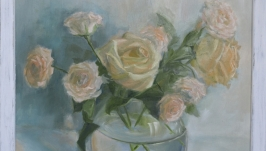Oil painting ′ Bouquet of roses ′