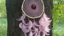 Розовый ловец снов