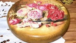 Кухонна дошка «Аромат троянди»