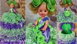 под заказ №173 кукла шкатулка подарок для прикрас или купюрница