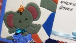 фоторамка текстильная для ребёнка