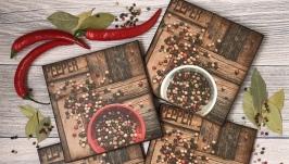 Набор подставок для сервировки стола ′Pepper′ - 4шт.