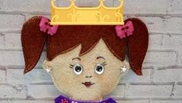 Развивающая игра для детей от 3-х лет Одень куклу - Коробочка Счастья