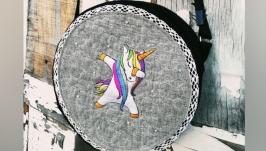 Сумка барабан ′Единорожка′
