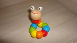 Деревянная игрушка «Гусеница»