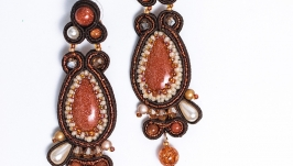 Earrings ′Autumn Jazz′