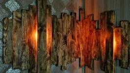 Пано на стену с подсветкой