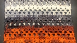 Вязаный шарф снуд, хомут