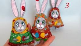 Пасхальные зайцы, подарок на Пасху