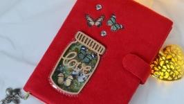 Весенний блокнотик ′Бабочки′