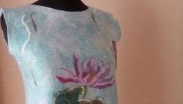 Блузка женская валяная