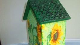 Чайный домик ′Лето′, подарок на 8 марта маме, бабушке, учителю