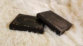 Кожаный блокнот ′Ключ′