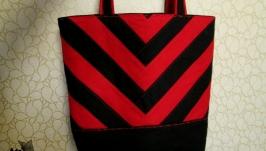 Текстильная сумка, шоппер.