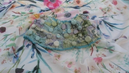 Шарф воротник ′Весна′