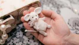 Миниатюрная Тедди мышка