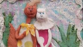 Кошки в горошках