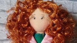 Милана куколка из ткани