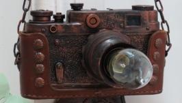 Бра-фотоаппарат в стиле лофт