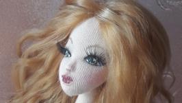 Ариадна - текстильная интерьерная кукла-тряпиенса