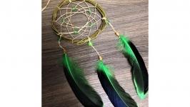 Ловец снов зеленый маленький